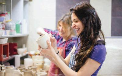 Ladies Night – Keramik bemalen am 17.04.20 von 20:00 bis 23:00 Uhr