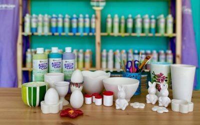 Keramik zuhause bemalen – jetzt Keramik to go abholen