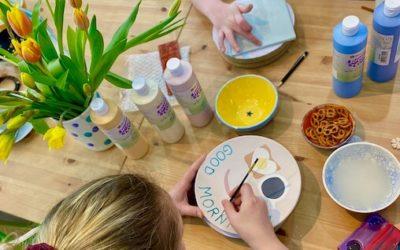 Keramik vor Ort bemalen ist ab sofort wieder möglich